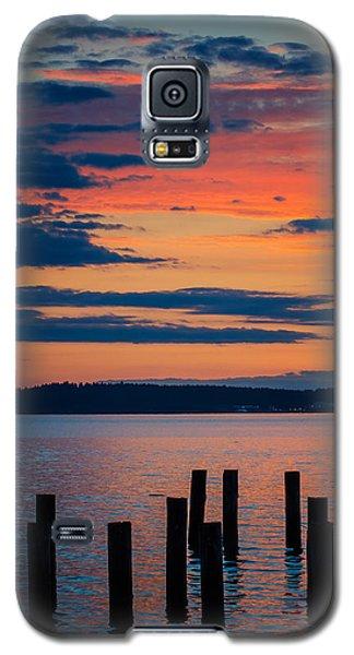 Puget Sound Sunset Galaxy S5 Case