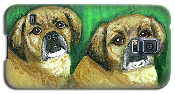 Puggles Bruno And Louie Galaxy S5 Case