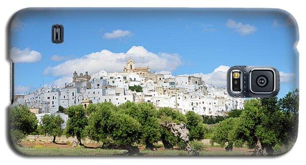 Puglia White City Ostuni With Olive Trees Galaxy S5 Case
