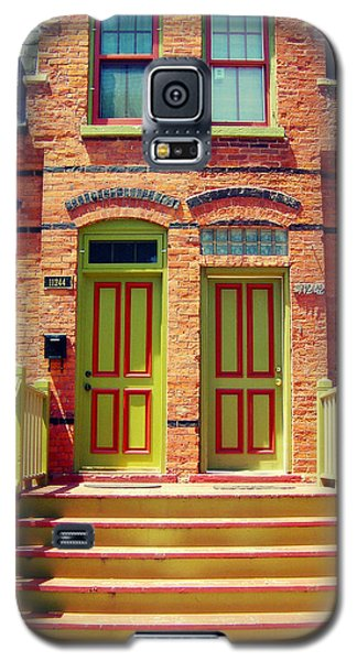Pullman National Monument Row House Galaxy S5 Case by Kyle Hanson