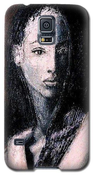 Galaxy S5 Case featuring the painting Pulsar by Jarmo Korhonen aka Jarko
