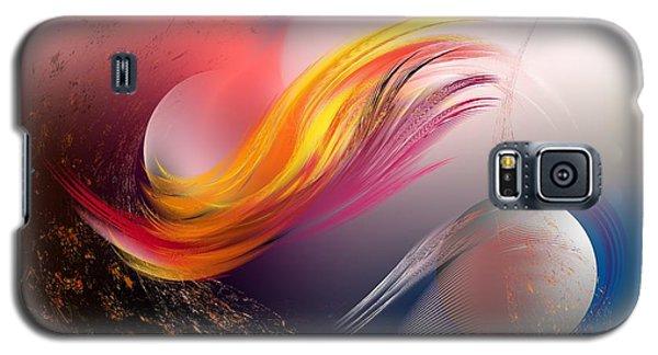 Pulsar Galaxy S5 Case by Leo Symon