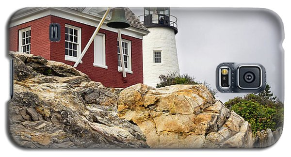 Pumphouse And Tower, Pemaquid Light, Bristol, Maine  -18958 Galaxy S5 Case