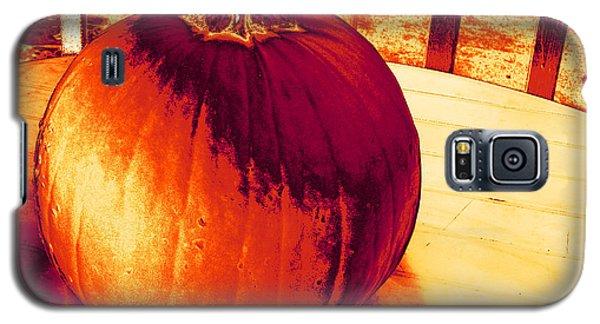 Pumpkin #3 Galaxy S5 Case