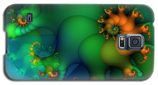 Pumpkin Garden Galaxy S5 Case