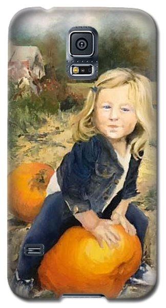 Pumpkin Patch Galaxy S5 Case by Lori Ippolito