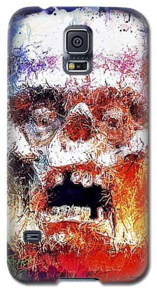 Pumpkin Scream Galaxy S5 Case