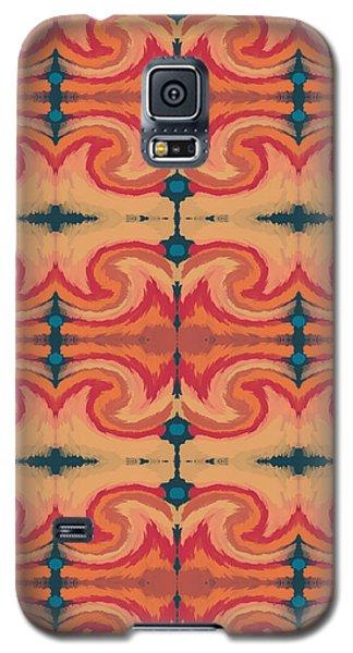 Niagra Falls Galaxy S5 Case - Pumpkin Spice 2- Art By Linda Woods by Linda Woods