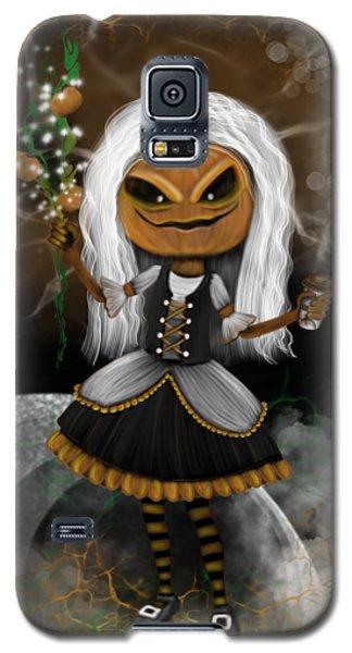 Pumpkin Spice Latte Monster Fantasy Art Galaxy S5 Case