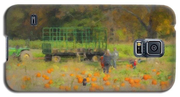 Pumpkins At Langwater Farm Galaxy S5 Case