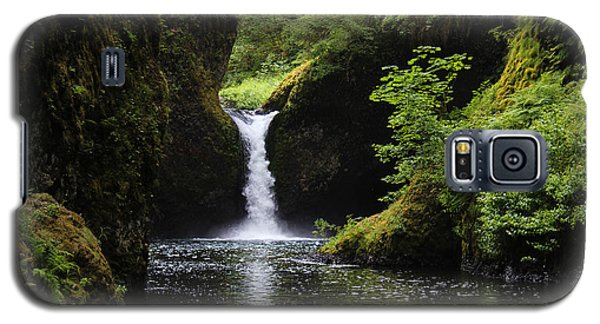 Punchbowl Falls Signed Galaxy S5 Case