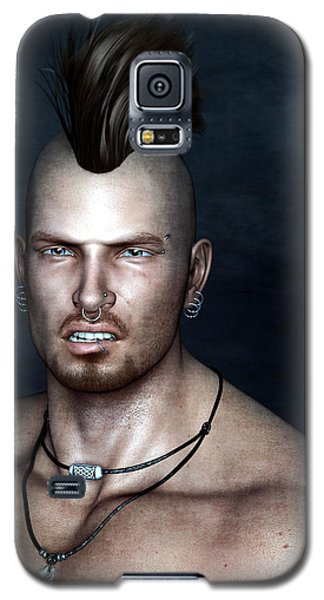 Punk Portrait Galaxy S5 Case