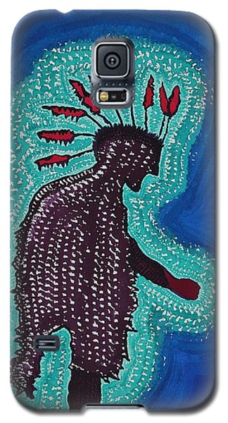 Punk Shaman Original Painting Galaxy S5 Case