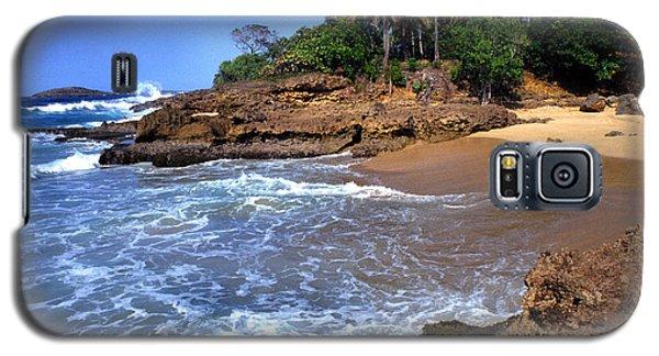 Punta Morillos Near Arecibo Galaxy S5 Case by Thomas R Fletcher