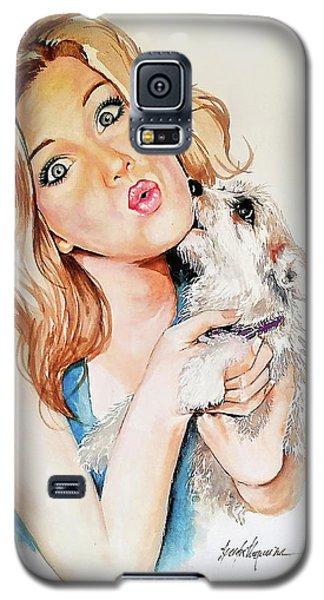 Puppy Galaxy S5 Case
