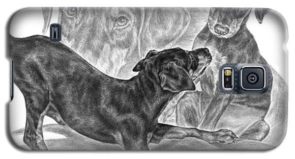 Puppy Love - Doberman Pinscher Pup Galaxy S5 Case