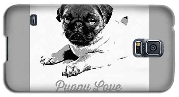 Puppy Love Galaxy S5 Case by Edward Fielding