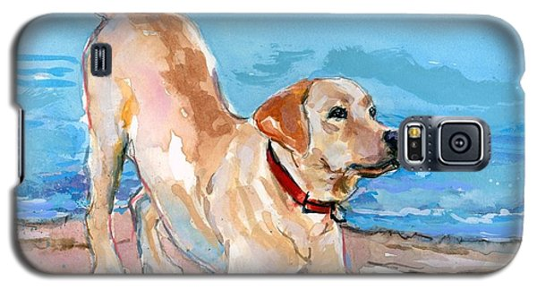 Puppy Pose Galaxy S5 Case by Molly Poole