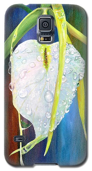 Galaxy S5 Case featuring the painting Pure Love by AnnaJo Vahle