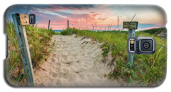 Galaxy S5 Case featuring the photograph Pure Michigan Sunset by Sebastian Musial