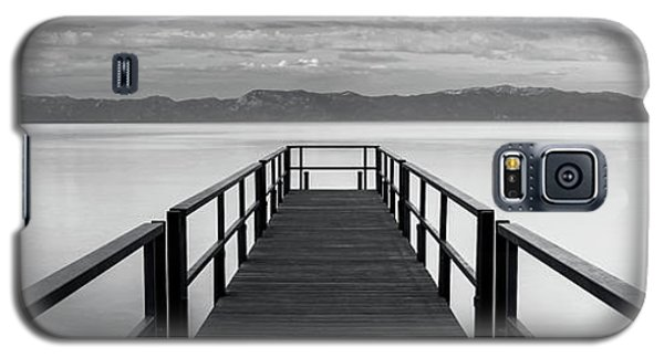 Galaxy S5 Case featuring the photograph Pure State Of Mind Lake Tahoe Pier by Brad Scott