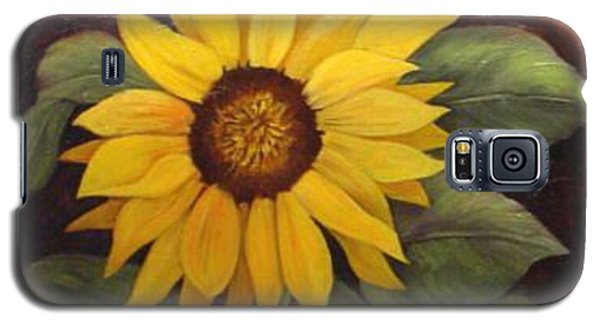Galaxy S5 Case featuring the painting Pure Sunshine  Sold by Susan Dehlinger