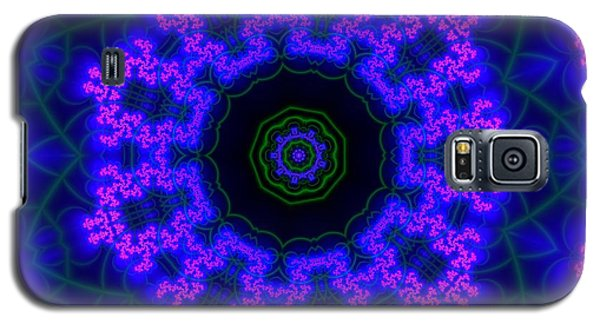 Purple 9 Lightmandala Galaxy S5 Case by Robert Thalmeier