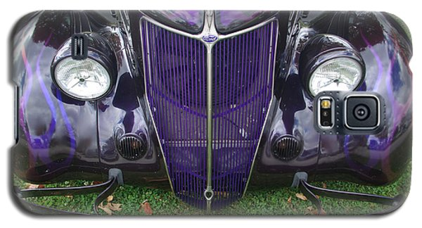 Purple Antique Ford Galaxy S5 Case