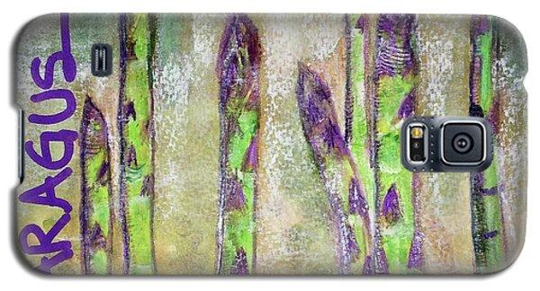 Purple Asparagus Galaxy S5 Case