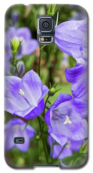 Purple Bell Flowers Galaxy S5 Case