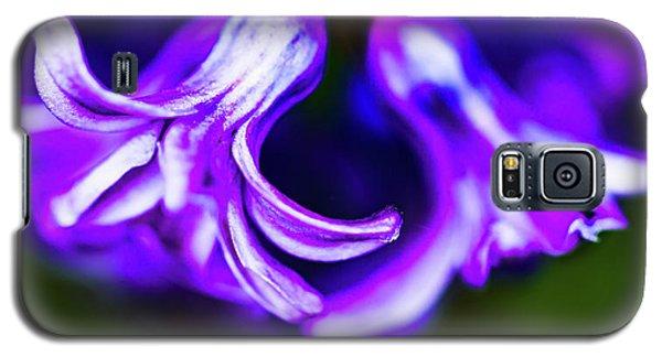 Purple Bells Galaxy S5 Case
