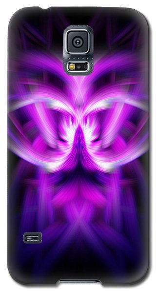 Galaxy S5 Case featuring the photograph Purple Bug by Cherie Duran