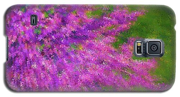 Purple Bush Galaxy S5 Case
