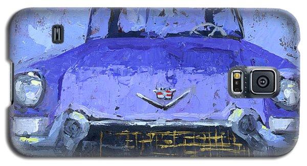Purple Cadillac Galaxy S5 Case