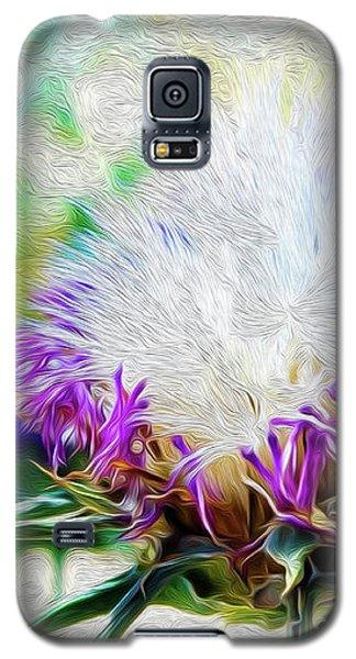 Purple Chaparral  Galaxy S5 Case