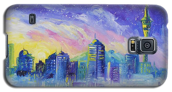 Purple City Galaxy S5 Case