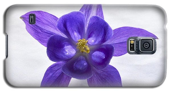 Purple Columbine Galaxy S5 Case by Terence Davis