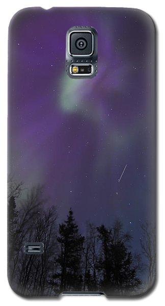 Purple Corona Galaxy S5 Case