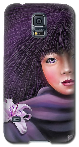 Purple Delight Galaxy S5 Case