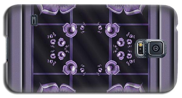 Purple Dimensions Galaxy S5 Case