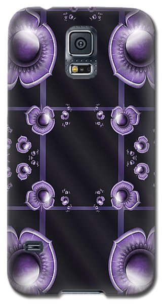 Purple Dimensions Galaxy S5 Case
