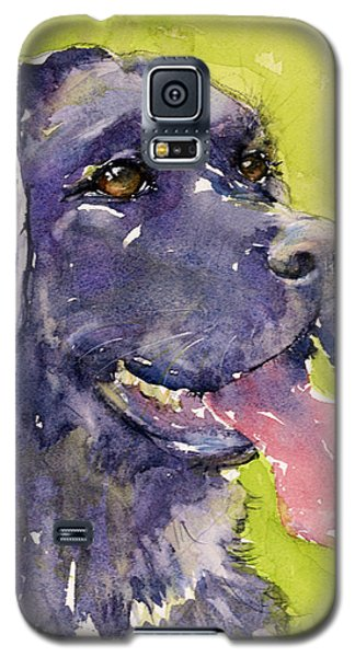 Purple Dog Galaxy S5 Case