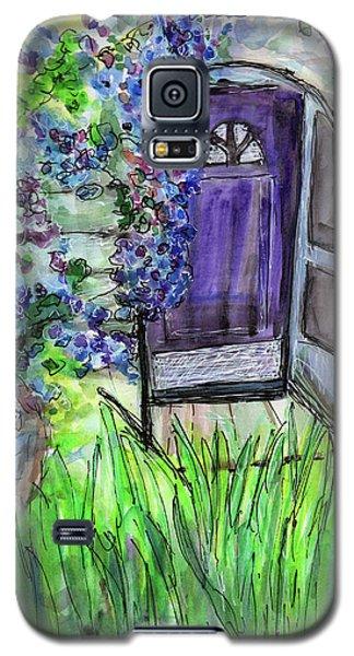 Purple Doorway Galaxy S5 Case
