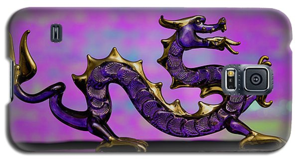 Purple Dragon Galaxy S5 Case