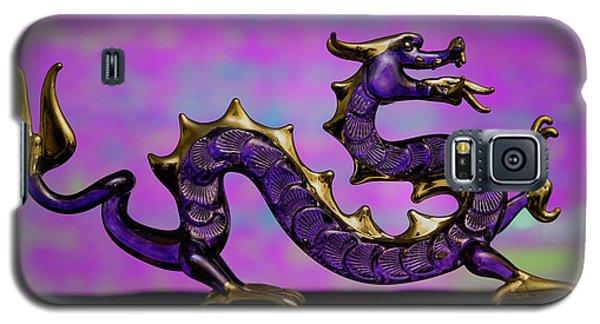 Purple Dragon Galaxy S5 Case