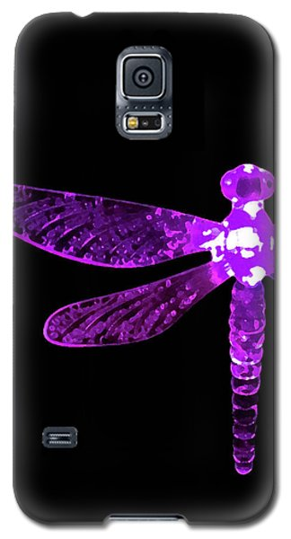 Purple Dragonfly Galaxy S5 Case