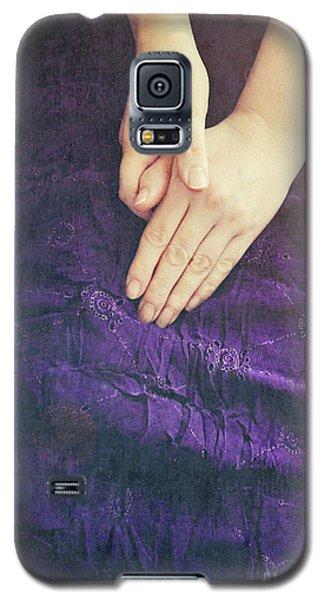 Purple Dress Galaxy S5 Case by Lyn Randle