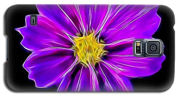 Purple Electric Galaxy S5 Case