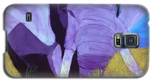 Purple Elephant Galaxy S5 Case