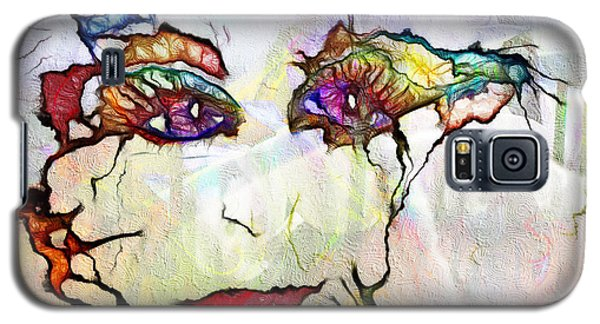 Purple Eyed Nymph Galaxy S5 Case